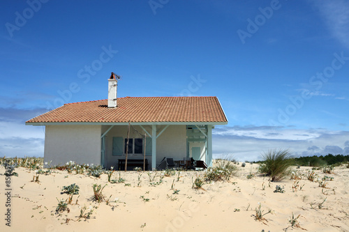 Holidays house on the beach
