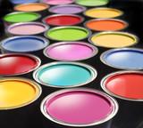 Fototapety Paint buckets