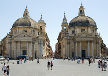 """Постер, картина, фотообои """"Piazza del Popolo, Roma"""""""