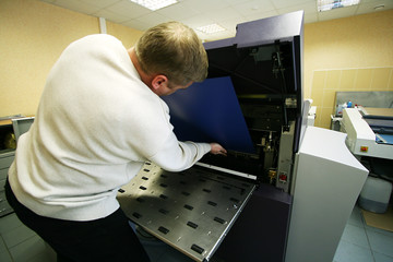 phototypesetting equipment