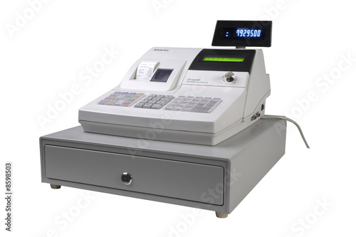 Leinwanddruck Bild Cash Register