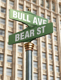 Stock Market Intersection poster