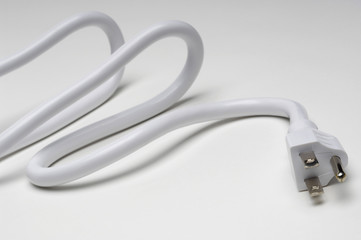 White power cord