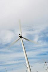 Wind turbines at wind farm