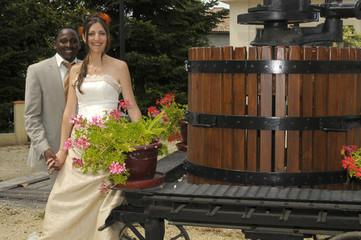 Les mariés viticole