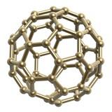 hexagon pentagon frame ball poster
