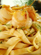 Fettucini With Sea Scallops