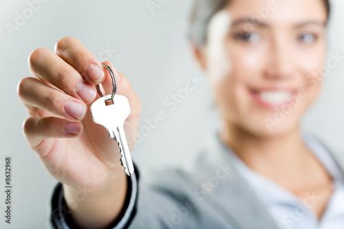Holding key