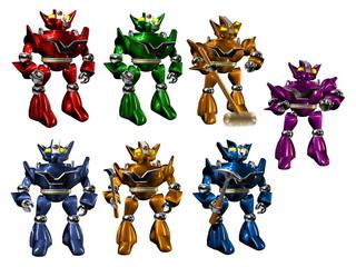 squadra di robot