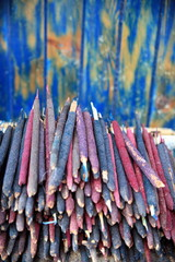 Pile of incense