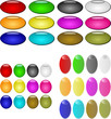 Vector Graphic Many Buttons All Colours