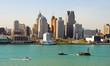 Leinwanddruck Bild - Detroit, Michigan