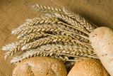 Idylle mit Weizenähren 3 poster
