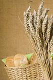 Idylle mit Weizenähren 2 poster