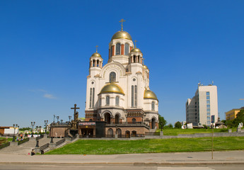 Church on Blood in Honor of All Saints Resplendent in Russia