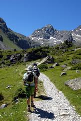 Rando dans les Pyrénées