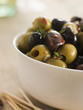 Bowl of Chilli and Garlic Marinated Olives