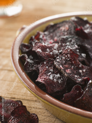Beetroot Crisps with Sea Salt