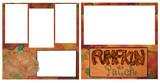 Pumpkin Patch Digital Scrapbook Page poster