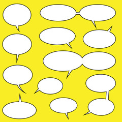 lots of speech bubbles for you comics