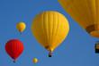 Leinwandbild Motiv montgolfières