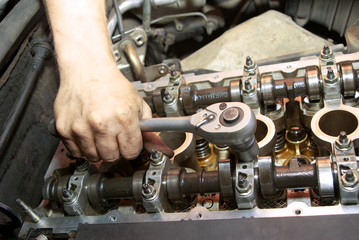 Repair of the engine