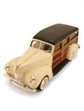 Vintage model car poster