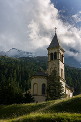 Church in the Solden, Italy