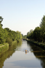 kayac sur la rivière
