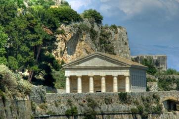 Tempel in Korfu