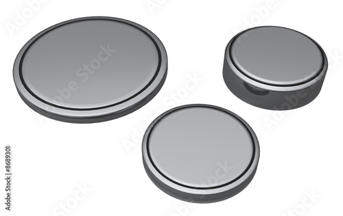 Coin or Button cell batteries - 8689301