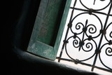 Window with wrought ironwork