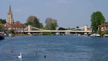 Marlow on the Thames