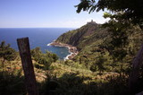 View of coast;San Sebastian;Spain