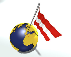 flag_austria_globe