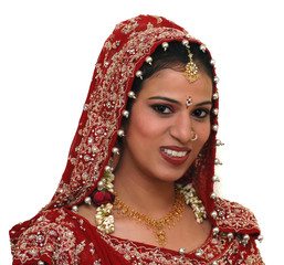 Young Indian bride