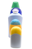 Set bottle for shampoo poster
