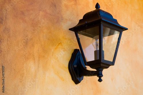 Fotobehang Tuin illuminazione da esterno