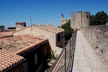 fortifications d'Aigues Mortes en camargue