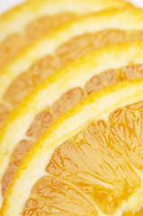 Orange slices, close-up