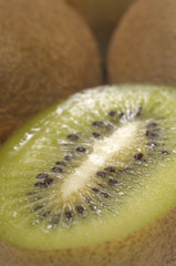 Kiwi fruit, close-up