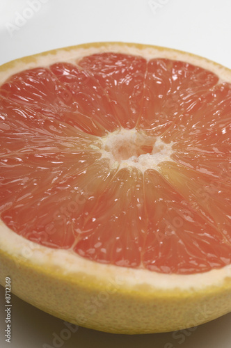 Halved grapefruit, close-up
