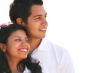 Carefree Young  Couple Enjoying Vacation poster