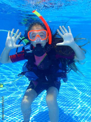 Plongeur enfant - 8722324