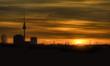 Fototapeten,berlin,alexanderplatz,sonnenuntergang,silhouette