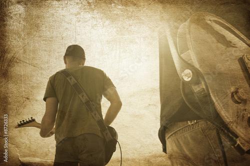 grunge music © vesnafoto