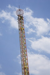 Tower amusement park ride