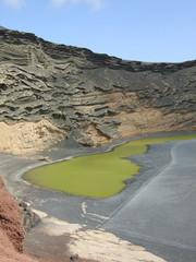 Le Lac Vert d'El Golfo