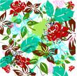 Vektor Illustration Pop Art Blüten Design