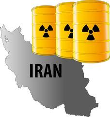 iran, mappa